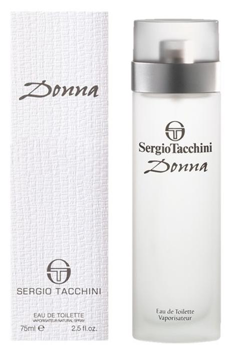 Sergio Tacchini Donna Туалетная вода, 75 мл