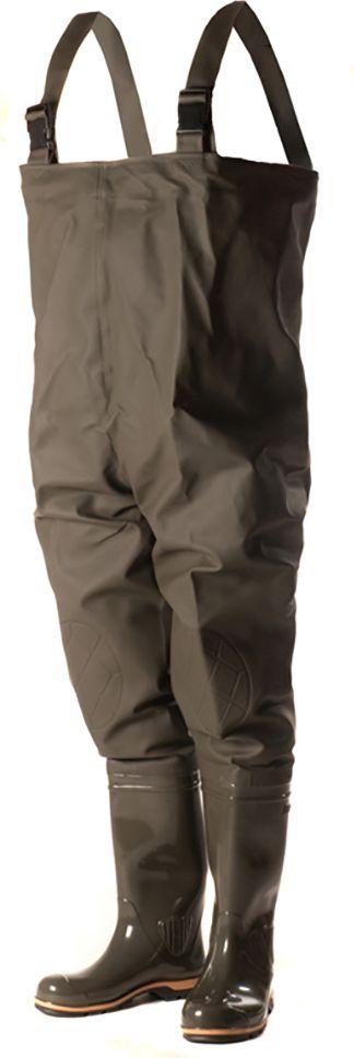 Полукомбинезон рыбацкий Nordman, цвет: оливковый. ПС 15 ПК. Размер 38