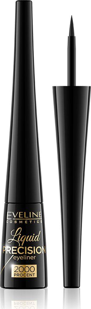 Eveline Водостойкая подводка для глаз матт Liquid Precision Liner 2000 procent, 4 млLE01MATФормула насыщена большим количеством микро частичек глиттера, витамин С, Е смягчает, защищает и питает нежную кожу век. Водостойкая жидкая подводка идеально подчеркивает натуральную красоту глаз. Благодаря специальной, двухфазной формуле, держится на веках целый день. Легко растушеванный, идеально подходит для дымчатого макияжа. Продукт прошел офтальмологические исследования. Не вызывает аллергии. Способ применения: провести тонкую линию по краю века