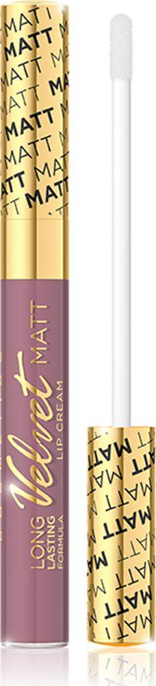 Eveline Жидкая губная помада №413 Velvet matt, 9 млLBL9KIS413Помада обогащена комплексов витамин A, E и F, который эффективно ухаживает за нежной кожей губ и гарантирует ее оптимальный уровень увлажнения. Помада имеет легкую нелипкую консистенцию, которая дает чувство комфорта в повседневном использовании, а также аппетитный аромат клюквы. Невероятно нежная формула помады обеспечивает максимальный комфорт и непревзойденную стойкость макияжа губ! Способ применения: нанести на губыКакая губная помада лучше. Статья OZON Гид