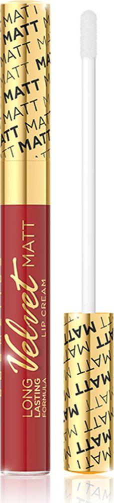 Eveline Жидкая губная помада №414 Velvet matt, 9 млLBL9KIS414Помада обогащена комплексов витамин A, E и F, который эффективно ухаживает за нежной кожей губ и гарантирует ее оптимальный уровень увлажнения. Помада имеет легкую нелипкую консистенцию, которая дает чувство комфорта в повседневном использовании, а также аппетитный аромат клюквы. Невероятно нежная формула помады обеспечивает максимальный комфорт и непревзойденную стойкость макияжа губ! Способ применения: нанести на губыКакая губная помада лучше. Статья OZON Гид
