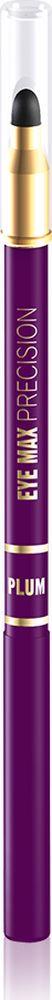 """Eveline Карандаш для глаз фиолетовый eye Max precisionLMKKEYEMAF2Современный автоматический карандаш с удобным аппликатором-спонжем помогает создать удивительно точные, изящные линии, которые подчеркивают и визуально увеличивают глаза, а также идеально подходит для создания """"дымчатого"""" макияжа. Карандаш имеет кремообразную текстуру, благодаря чему наносится мягко и без усилий, не раздражает и не сушит чувствительную кожу вокруг глаз, а специальный латексный аппликатор мягко растушевывает линии, создавая плавность в переходе тонов. Способ применения: провести карандашом тонкую линию по краю века."""