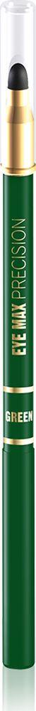 """Eveline Карандаш для глаз зеленый eye Max precisionLMKKEYEMAZ2Современный автоматический карандаш с удобным аппликатором-спонжем помогает создать удивительно точные, изящные линии, которые подчеркивают и визуально увеличивают глаза, а также идеально подходит для создания """"дымчатого"""" макияжа. Карандаш имеет кремообразную текстуру, благодаря чему наносится мягко и без усилий, не раздражает и не сушит чувствительную кожу вокруг глаз, а специальный латексный аппликатор мягко растушевывает линии, создавая плавность в переходе тонов. Способ применения: провести карандашом тонкую линию по краю века."""