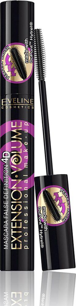 Eveline Тушь д/ресниц - экстремальный объем+удлинение х10 Extension Volume Professional make-up, 10 млLTUEXTPOGNВ состав туши входят натуральный пчелиный воск, парафин, стеариновая кислота. Тушь с неотразимым эффектом накладных ресниц. Основа успеха - силиконовая щеточка BOLD&FLEXY BRUSH, созданная с использованием инновационной технологии DuPoint Hytrel, которая в одно мгновение придаст твоим ресницам непревзойденную длину и обворожительный изгиб, не оставляя на них ни единого комочка. Инновационная эргономичная конструкция щеточки гарантирует превосходное разделение ресниц, позволяет прокрасить тушью каждую ресничку с точностью лазера.