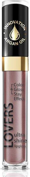 Eveline Блеск для губ №607 Lovers Ultra Shine 7,5 млLBL7LOVE607NЭтот блеск для губ отличается нежной текстурой и инновационной рецептурой, которая содержит масло арганы, вот почему он интенсивно и бережно ухаживает за кожей губ, оказывая интенсивное увлажняющее действие. Невероятный блеск, яркие оттенки, кремовая деликатная текстура, бережный результативный уход, удобный аппликатор.
