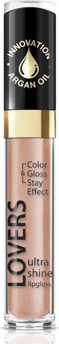 Eveline Блеск для губ №608 Lovers Ultra Shine, 7,5 мл29105333002Этот блеск для губ отличается нежной текстурой и инновационной рецептурой, которая содержит масло арганы, вот почему он интенсивно и бережно ухаживает за кожей губ, оказывая интенсивное увлажняющее действие. Невероятный блеск, яркие оттенки, кремовая деликатная текстура, бережный результативный уход, удобный аппликатор.