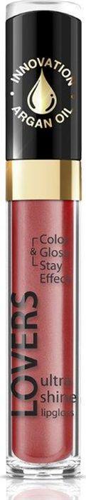 Eveline Блеск для губ №614 Lovers Ultra Shine, 7,5 млLBL7LOVE614NЭтот блеск для губ отличается нежной текстурой и инновационной рецептурой, которая содержит масло арганы, вот почему он интенсивно и бережно ухаживает за кожей губ, оказывая интенсивное увлажняющее действие. Невероятный блеск, яркие оттенки, кремовая деликатная текстура, бережный результативный уход, удобный аппликатор.