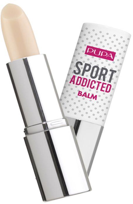 Pupa Бальзам для губ Sport Addicted Balm №001, оттенок Чистый ванильный, 21 г020050A001Нежная и кремовая текстура для легкого и комфортного нанесения. Нежный защитный бальзам для губ, сияющий эффект. Защищает от вредного воздействия солнечный лучей, защита SPF15. Удобная упаковка, чтобы всегда брать с собой на занятия спортом.