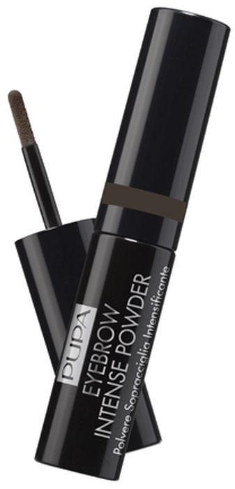 Pupa Пудра для бровей Eyebrow Intense Powder №003, оттенок Темно-коричневый, 1 г040206A003Экстремально нежная, супер скользящая и ультра легкая. Идеально растушевывается на бровях, создавая ощущение невероятного комфорта. Большой процент содержания ингредиентов с минеральной пудрой наделяет текстуру матирующими свойствами, в то время как комбинация масел и восков создает вельветовый эффект. Нитрид бора в составе формулы добавляет заполняющий эффект пудре. Брови структурированы, обладают насыщенным цветом и выглядят объемнее. Насыщенность макияжа бровей можно регулировать: от натурального эффекта к насыщенному. Черный корпус с контрастными элементами, крышечка с лентой в цвет пудры. Практичный мини спонж-апплиактор для комфортного нанесения. Может быть использован для создания как тонкой, так и для более широкой линии бровей.Как создать идеальные брови: пошаговая инструкция. Статья OZON Гид