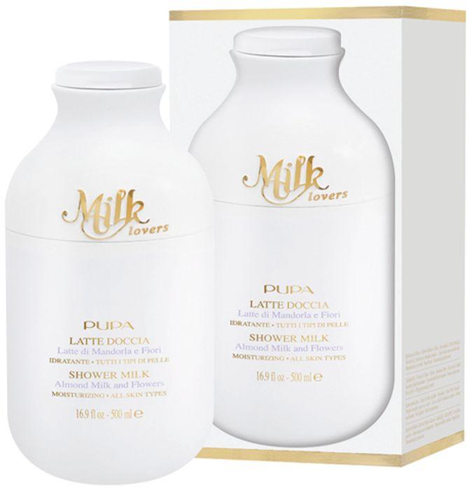 Pupa Гель для душа Milk Lovers, Миндальное молочко и цветы, 500 мл0B2A01B003Обволакивает кожу как бы нежной, легкой замшей. Очищает кожу настолько бережно, насколько это возможно. Белый цвет, жидкая текстура как у молока. Нежная, гладкая кожа после душа. Формулы серии Milk Lovers разрабатывались с акцентом на отбираемые ингредиенты, преимущественно на природные компоненты. Без парабенов. Без силиконов. Без вазелина. Без алкоголя. Без красителей.