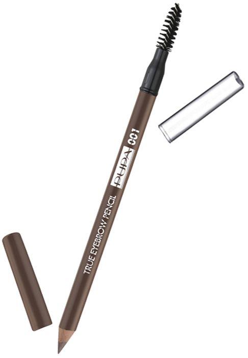 Pupa Карандаш для бровей True Eyebrow Pensil № 001, оттенок Светлый, 1 г240208A001Высокая концентрация пигментов гарантирует насыщенный невероятный цвет с первого жеста. Формула обогащена высоким содержанием растительных антиоксидантных ингредиентов. Идеально для заполнения пустот, для макияжа бровей от натурального до насыщенного. Насыщенный цвет с первого жеста. Корпус и крышечка в цвет грифеля. Практичный аппликатор, чтобы причесать брови.