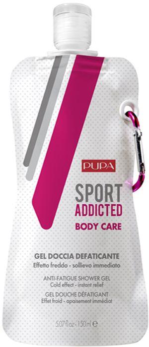 Pupa Гель для душа Sport Addicted Anti-Fatigue Shower Gel, 150 мл гель для душа mud for men shower gel с термальной грязью роторуа 150 мл wild ferns