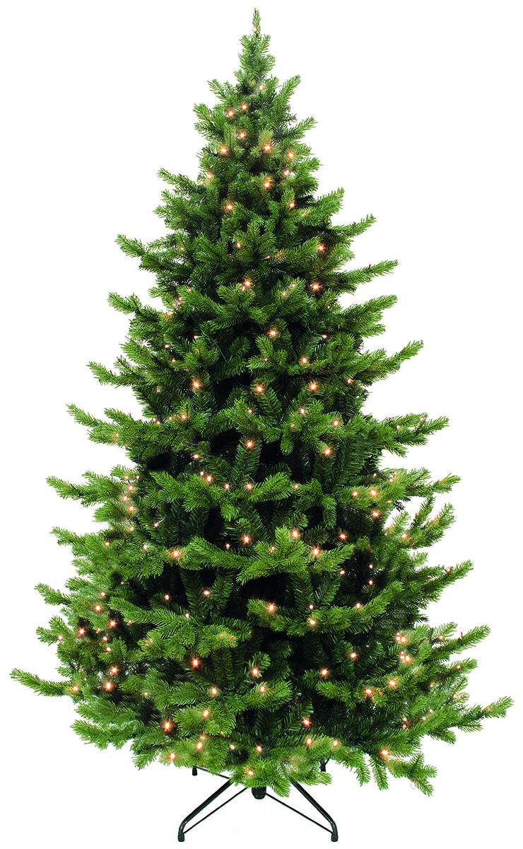 Ель искусственная Triumph Tree Шервуд Премиум, с гирляндой, цвет: зеленый, высота 215 см, 288 ламп73715 (389917)Искусственная ель Triumph Tree Шервуд Премиум - прекрасный вариант для оформления вашего интерьера к Новому году. Такие деревья абсолютно безопасны, удобны в сборке и не занимают много места при хранении. Ель состоит из верхушки, ствола и устойчивой подставки а так же украшена гирляндой. Ель быстро и легко устанавливается и имеет естественный и абсолютно натуральный вид, отличающийся от своих прототипов разве что совершенством форм и мягкостью иголок.Еловые иголочки не осыпаются, не мнутся и не выцветают со временем. Полимерные материалы, из которых они изготовлены, нетоксичны и не поддаются горению. Ель Triumph Tree Шервуд Премиум обязательно создаст настроение волшебства и уюта, а также станет прекрасным украшением дома на период новогодних праздников.Размер подставки: 56 х 56 см.