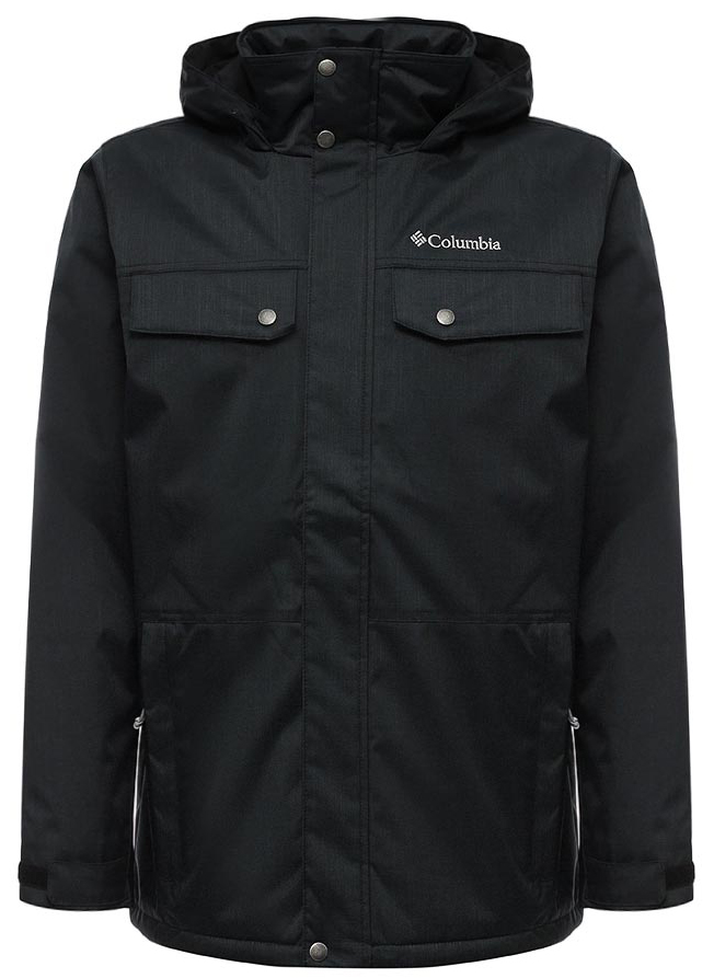 Куртка мужская Columbia Eagles Call Insulated Jacket M, цвет: черный. 1746071-010. Размер XXL (56/58)  цена