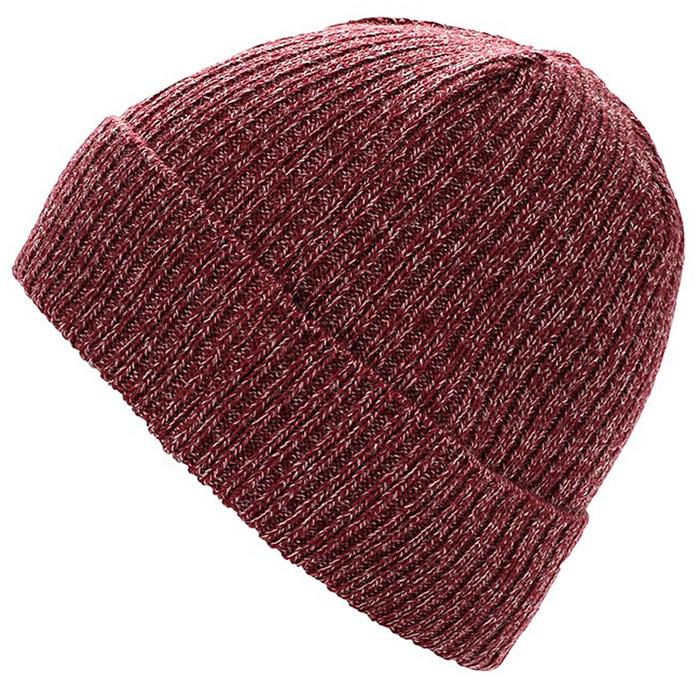 Шапка мужская Ziener Iconoclast Hat, цвет: бордовый. 170046-237. Размер универсальный170046-237Шапка мужская Ziener Iconoclast Hatвыполнена из акрила и шерсти. Модель оформлена отворотом.