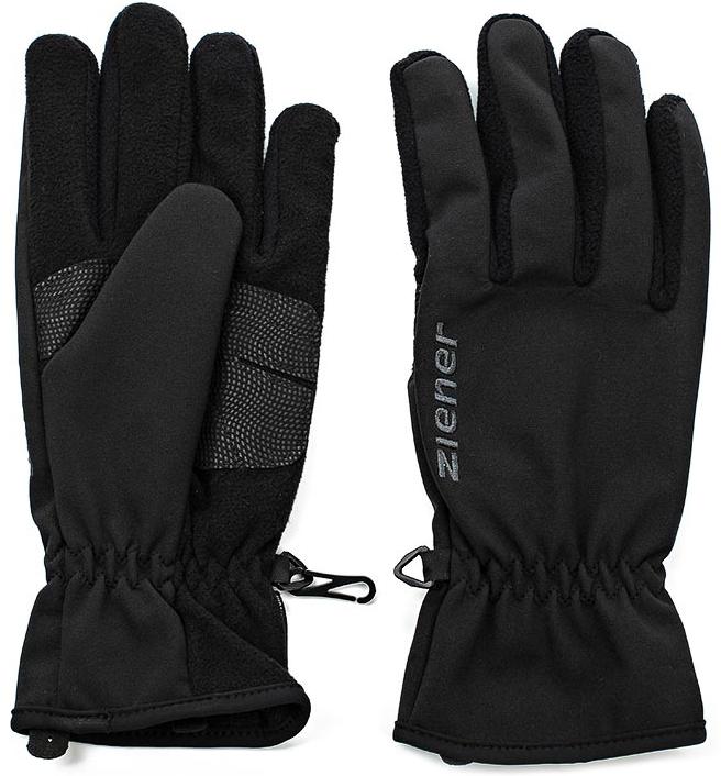 Перчатки Ziener Import Glove Multisport, цвет: черный. 150095-12. Размер 10150095-12Удобные и практичные перчатки классического спортивного кроя незаменимы для поклонников беговых лыж. Дышащий материал защищает от влаги, сохраняя комфортный микроклимат внутри. Благодаря технологии перчатки отлично греют в холодные дни. Технология&nbsp обеспечивает максимальный комфорт и свободу движения. Специальная узкая манжета позволяет заправить перчатки в рукава.
