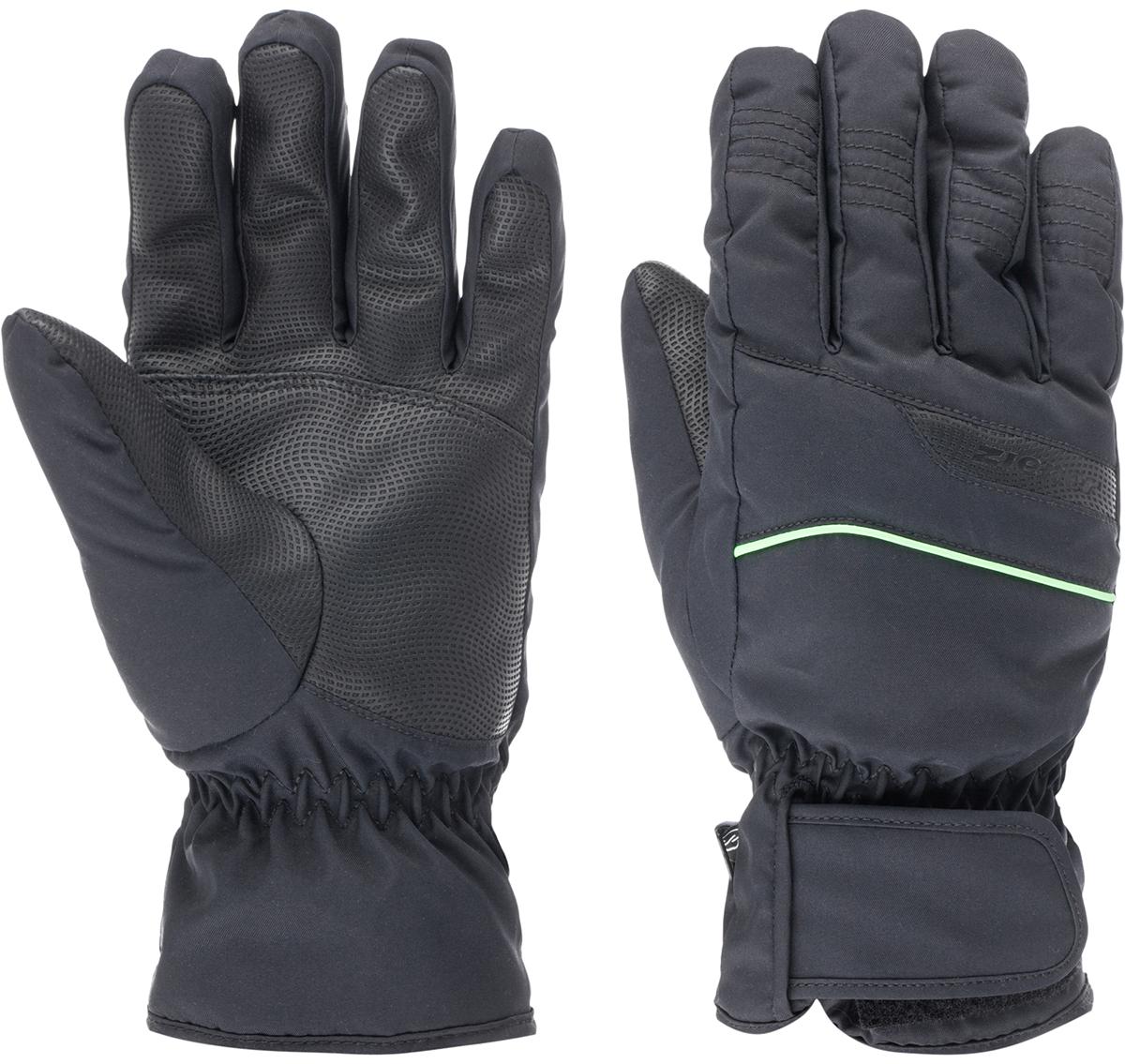 Перчатки мужские Ziener Galdar Sm Glove Ski Alpine, цвет: черный. 150047-12785. Размер 10,5150047-12785Горнолыжные перчатки классической формы. Стандартный спортивный крой, эргономичная манжета, средней толщины утеплитель, в совокупности, обеспечивают комфортные условия в использования изделия. Специальная застежка на манжете позволяет плотно фиксировать перчатку. Технология обеспечивает максимальный комфорт и свободу движения.