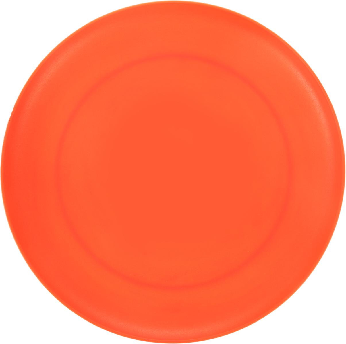 Тарелка Gotoff, цвет: оранжевый, диаметр 23,5 смWTC-273_оранжевыйКруглая тарелка Gotoff выполнена из прочного пищевого полипропилена. Выдерживает температурный режим в пределах от - 25 до + 110°C. Посуду из полипропилена можно использовать в микроволновой печи, но необходимо, чтобы нагрев не превышал максимально допустимую температуру. Изделие отлично подойдет как для холодных, так и для горячих блюд. Его удобно использовать дома или на даче, брать с собой на пикники и в поездки. Отличный вариант для детских праздников. Такая тарелка не разобьется и будет служить вам долгое время.
