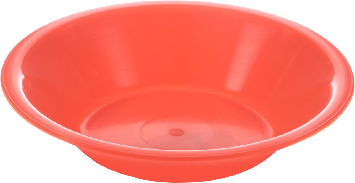 Тарелка глубокая Gotoff, цвет: оранжевый, диаметр 18,5 смWTC-802_оранжевыйГлубокая тарелка Gotoff изготовлена из цветного пищевого пластика и предназначена для холодной и горячей пищи. Выдерживает температурный режим в пределах от - 25 до + 110°C. Посуду из полипропилена можно использовать в микроволновой печи, но необходимо, чтобы нагрев не превышал максимально допустимую температуру. Удобная, легкая и практичная посуда для пикника и дачи поможет сервировать стол без хлопот!Диаметр тарелки (по верхнему краю): 18,5 см.Высота тарелки: 3,9 см.