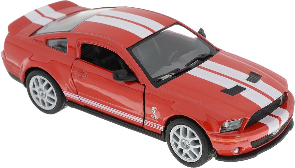 Kinsmart Модель автомобиля Ford 2007 Shelby GT500 цвет красный хендай старекс б у 2007 купить