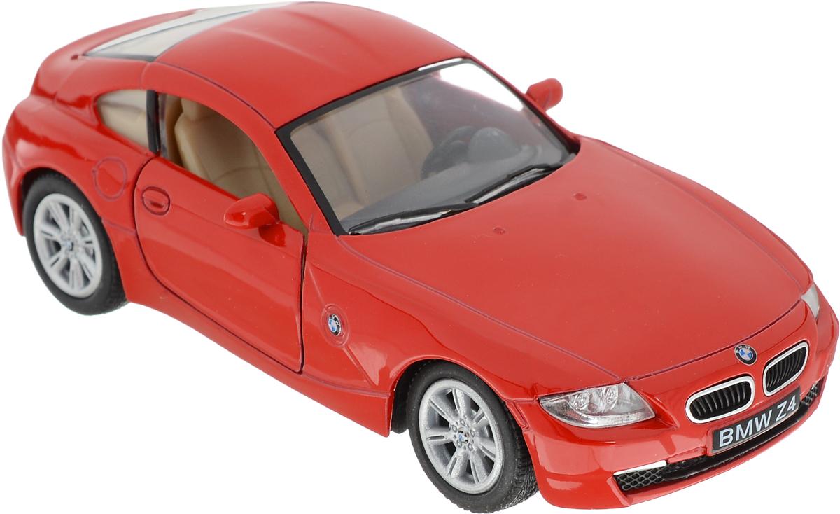 Kinsmart Модель автомобиля BMW Z4 Coupe цвет цвет красный журнал моделей а1 мужские пиджаки авторские модели пароль для заказа лекал 5 выкроек