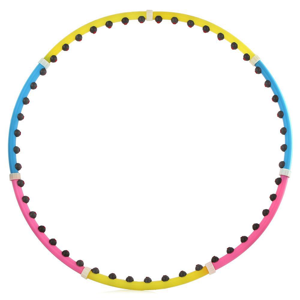 Обруч массажный разборный Z-sports, диаметр 100 см150489_1Обруч Z-sports применяется для коррекции фигуры в области талии, тренировки брюшных мышц. Имеет массажную поверхность, что дополнительно стимулирует проблемные зоны при тренировках. Обруч состоит из 7 разноцветных равных сегментов.Как выбрать кардиотренажер для похудения. Статья OZON Гид