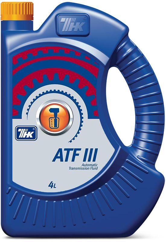 Жидкость гидравлическая ТНК ATF III, 4 л40617542Полусинтетическое масло ТНК ATF III предназначено для автоматических коробок передач и гидроусилителей рулевого управления. Масло обладает прекрасными функциональными свойствами и произведено на основе смешения высококачественных синтетических базовых компонентов и гидрооблагороженных минеральных базовых компонентов глубокой очистки с высоким индексом вязкости. Масло содержит специально подобранный комплекс эффективных антиокислительных, противоизносных, моющих и противопенных присадок и активные модификаторы трения. Масло разработано в строгом соответствии со спецификациями производителей АКПП.
