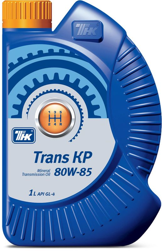 Масло трансмиссионное ТНК Trans KP, минеральное, класс вязкости 80W-85, 1 л40617832ТНК Trans KP 80W-85 - всесезонное трансмиссионное масло высокого класса. THK Trans KP 80W-85 было разработано совместно с Научно-техническим центром АвтоВАЗа и вобрало в себя опыт многих десятилетий непосредственной разработки, производства и эксплуатации коробок передач и узлов трансмиссий ведущей российской автомобильной компании. Производится на основе высококачественных минеральных базовых масел глубокой очистки с высоким индексом вязкости и современного пакета функциональных присадок. Отличные вязкостно-температурные свойства масла обеспечивают надежную смазку деталей механических трансмиссий в момент пуска.Область применения: ТНК Trans KP 80W-85 предназначено для смазки механических трансмиссий импортных и отечественных легковых и грузовых автомобилей и другой подвижной техники, требующих применения масел эксплуатационного класса API GL-4 (ТМ-4 по ГОСТ 17479.2-85). Преимущества масла: Эффективный пакет присадок обеспечивает высокий уровень защиты от износа зубчатых передач и синхронизаторов в условиях высоких температур и контактных нагрузок. ТНК Trans KP 80W-85 обладает хорошими антипенными и антикоррозионными свойствами, прекрасно совместимо со всеми существующими материалами сальников (уплотнителей) коробок передач, распределительных коробок, коробок отбора мощности и главных передач. Оптимальный состав ТНК Trans KP 80W-85 продлевает срок жизни узлов трансмиссии и уменьшает расходы на обслуживание и ремонт. Разработано в полном соответствии с требованиями, предъявляемыми отечественными и зарубежными производителями трансмиссий.