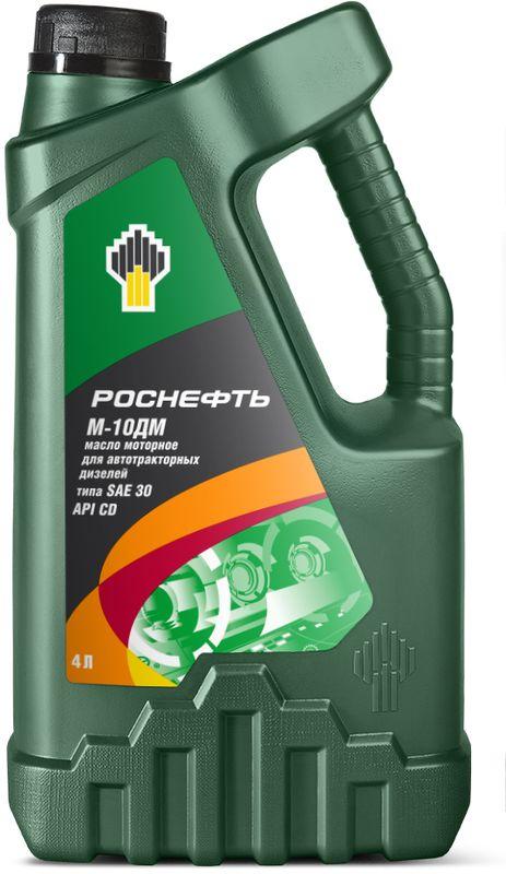 Масло моторное Роснефть М-10ДМ, 4 л4136Летнее минеральное моторное масло для дизельных двигателей эксплуатационного класса API CD. Изготавливаются на основе минеральных базовых масел глубокой очистки с добавлением усовершенствованного пакета присадок, что обеспечивает высокие эксплуатационные характеристики.