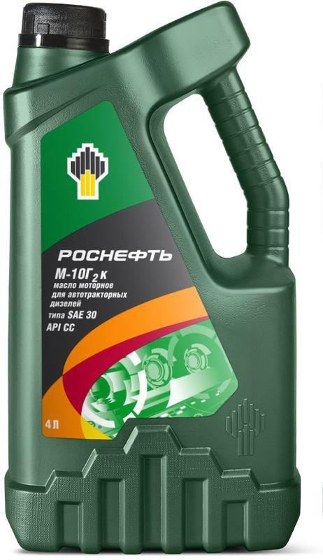 Масло моторное Роснефть М-10Г2К, 4 л4138М-10Г2к - летнее минеральное моторное масло для дизельных двигателей эксплуатационного класса API CC. Изготавливаются на основе минеральных базовых масел глубокой очистки с добавлением усовершенствованного пакета присадок, что обеспечивает высокие эксплуатационные характеристики. Область применения: М-10Г2к предназначено для применения в высокофорсированных дизельных двигателях отечественного производства с умеренным наддувом и без наддува грузовых автомобилей, сельскохозяйственной и дорожно-строительной техники, работающих в эксплуатационных условиях, способствующих образованию высокотемпературных отложений. Также применяется для смазывания восокооборотных стационарных дизелей и дизель-генераторов. Преимущества масла: Базовые масла собственного производства и тщательный контроль качества обеспечивают высокий уровень эксплуатационных характеристик. Высокая стабильность компонентов масла обеспечивает длительный срок службы и повышение надежности техники. Масло М-10Г2к совместимо с существующими материалами сальников и, тем самым, обеспечивает защиту двигателя от протечек. Рецептура масла М-10Г2к разработана с учетом условий эксплуатации техники в РФ и странах СНГ.