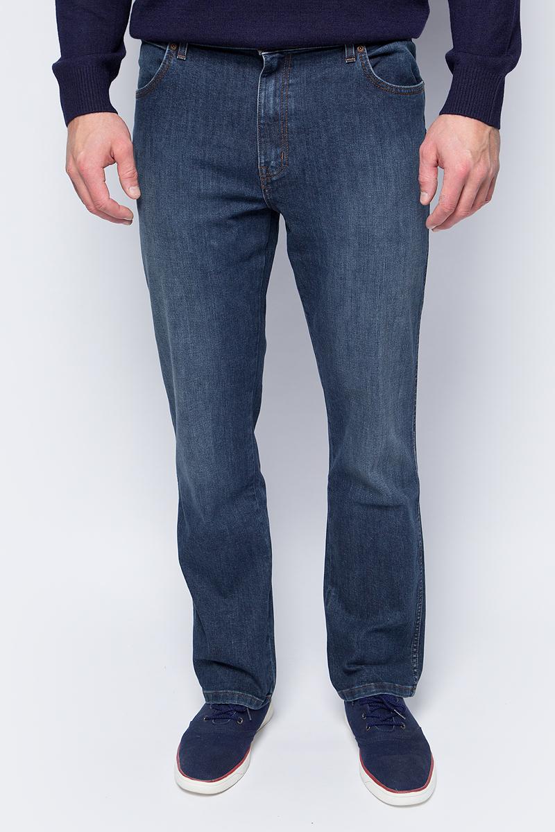 Джинсы мужские Wrangler, цвет: синий. W1216497B. Размер 35-34 (50/52-34) джинсы wrangler wrangler wr224ewbohs8