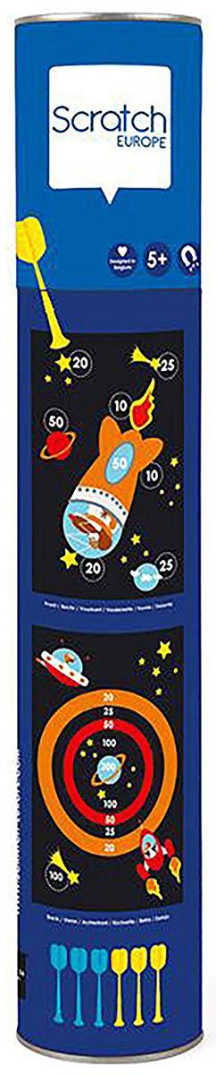 Scratch Обучающая игра Darts Космонавт спортивный инвентарь scratch дартс принцесса