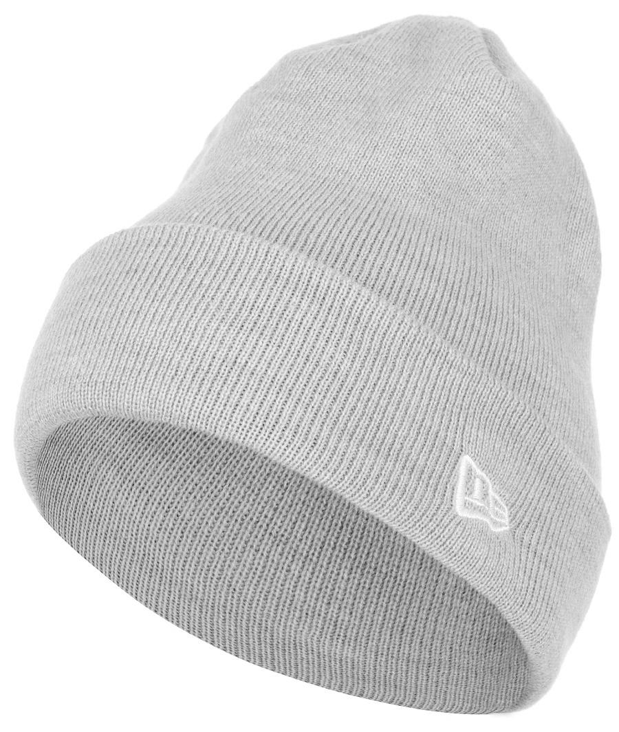 Шапка New Era Heather Cuff Knit, цвет: серый. 11448354-GRA. Размер универсальный11448354-GRAШапка с отворотом New Era выполнена из 100% акрила. Модель оформлена вышивкой с изображением логотипа бренда. Такая шапка подойдет и для мужчин, и для женщин.