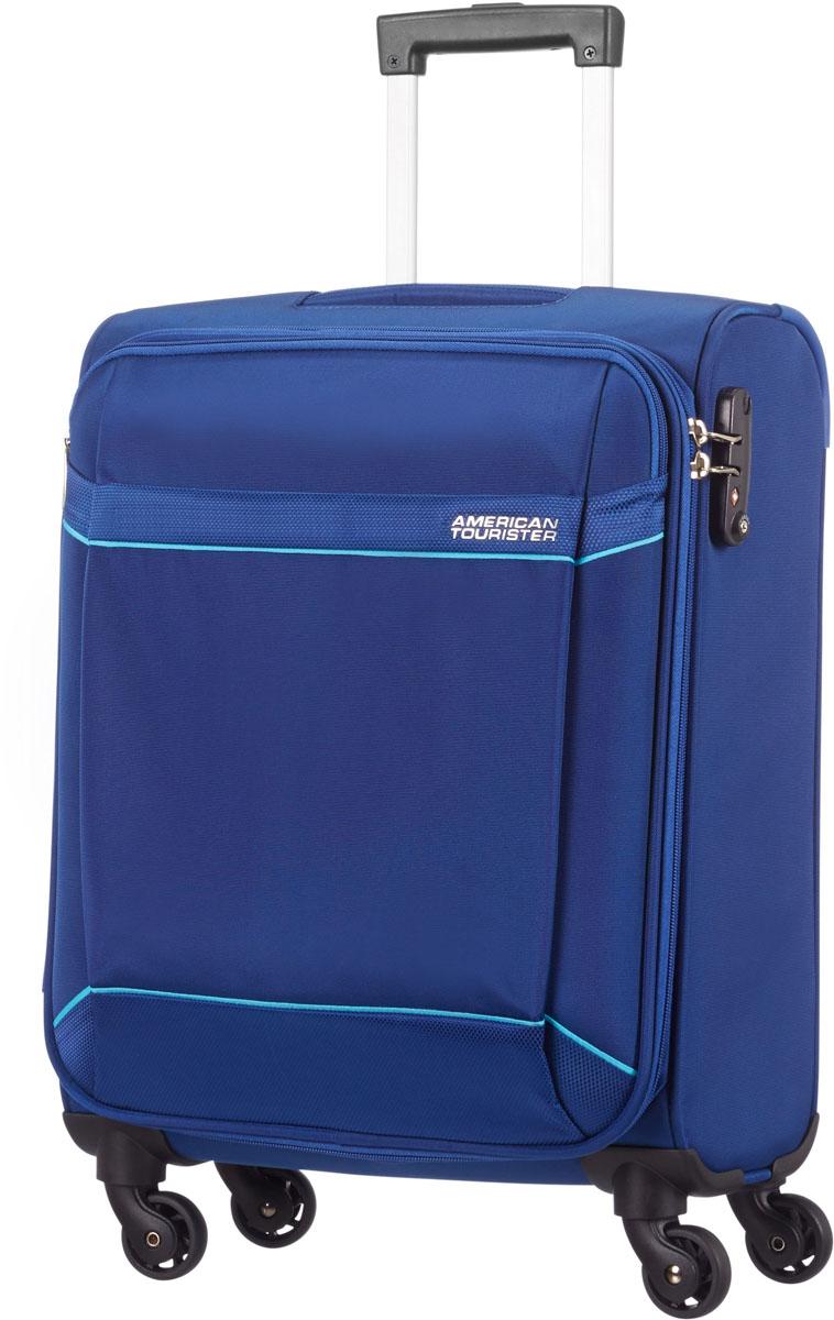 Чемодан American Tourister, цвет: синий, 39 л. 10G-1190210G-11902