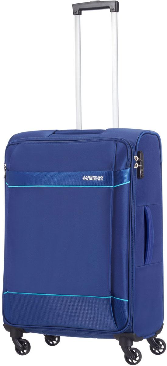 Чемодан American Tourister, цвет: синий, 69 л. 10G-1190310G-11903