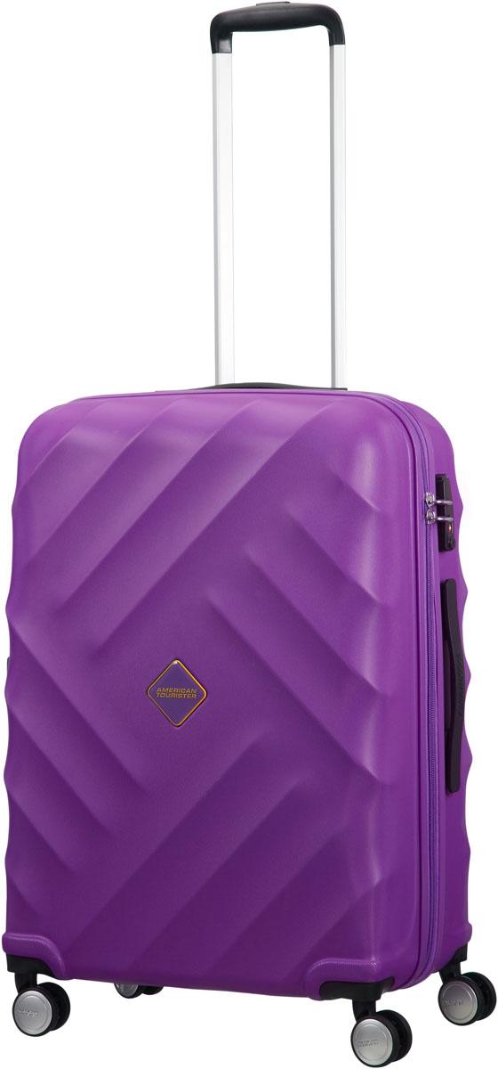 Чемодан American Tourister, цвет: фиолетовый, 64 л. 21G-9100221G-91002