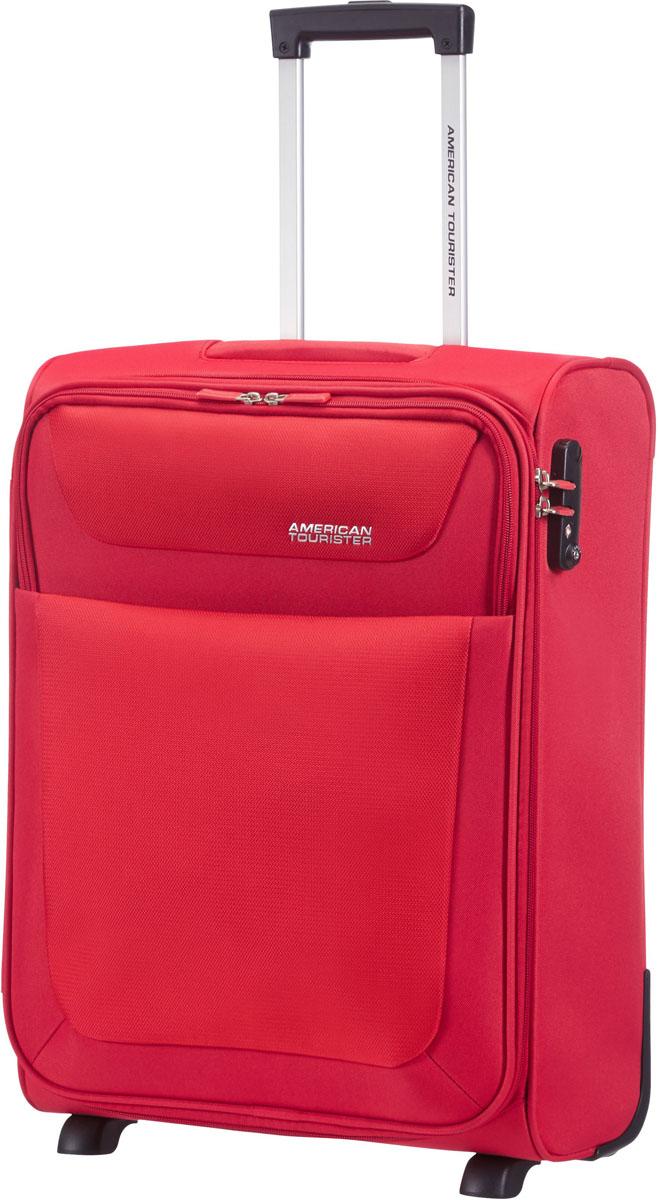 Чемодан 2-х колесный American Tourister, цвет: красный, 40 л. 96A-0090196A-00901