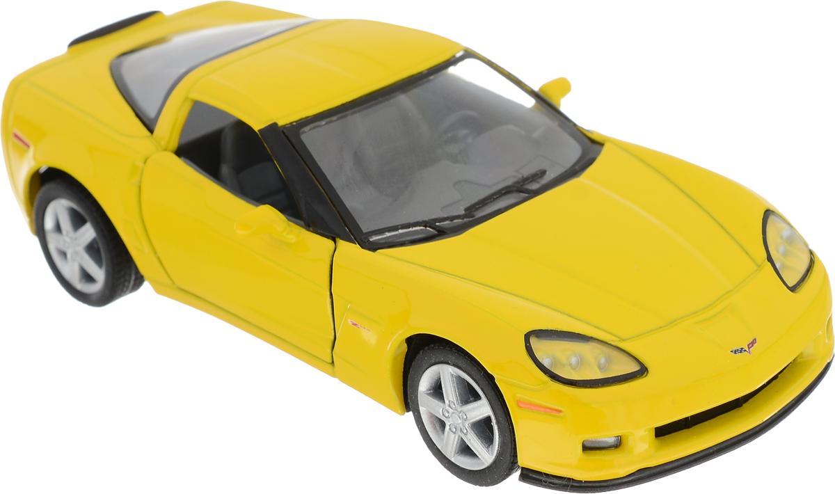 Kinsmart Модель автомобиля 2007 Chevrolet Corvette Z06 цвет желтый хендай старекс б у 2007 купить