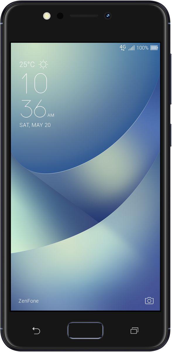 ASUS ZenFone 4 Max ZC520KL, Black (90AX00H1-M00380)90AX00H1-M00380Смартфон ASUS ZenFone 4 Max создан для людей, ведущих мобильный стиль жизни, и поэтому оснащается аккумулятором емкостью 4100 мАч – этого вполне достаточно на целый день активного пользования. А чтобы запечатлеть все памятные моменты, происходящие в течение дня, у него имеется пара высококачественных тыловых камер, одна из которых обладает широкоугольным (120°) объективом.ZenFone 4 Max наделен системой из двух тыловых камер, которые позволяют получать высококачественные снимки в различных условиях. Одна камера – с разрешением 13 мегапикселей и большой апертурой (f/2,0) – является основной и служит для обычной фотосъемки, а вторая оснащается широкоугольным (120°) объективом, который будет оптимален для пейзажных и групповых фото.Широкоугольная камера ZenFone 4 Max обладает 120-градусным полем обзора, что в два раза превышает возможности стандартных смартфонных камер. Таким образом, в кадр помещается больше пространства и объектов, и это способствует получению красочных пейзажных снимков. Такая камера пригодится и при съемке в тесном помещении, когда бывает невозможно сделать несколько шагов назад, чтобы поймать в кадр всех присутствующих. Кроме того, уникальная перспектива, создаваемая широкоугольным объективом, может применяться для создания определенного стилистического эффекта, подчеркивая ощущение большого пространства.ZenFone 4 Max оснащается 13-мегапиксельной основной камерой с функцией мгновенного срабатывания затвора, а фронтальная камера, обладающая сенсором с разрешением 8 мегапикселей, поможет сделать отличные селфи и пообщаться по видеосвязи.8-мегапиксельная селфи-камера наделена светодиодной вспышкой, дающей мягкое, рассеянное освещение, которое помогает лучше передать телесный цвет. А чтобы получить еще более красочный результат, можно воспользоваться функцией улучшения портрета, которая автоматически убирает дефекты кожи, корректирует черты лица и вносит в снимок ряд других мелких, но эф
