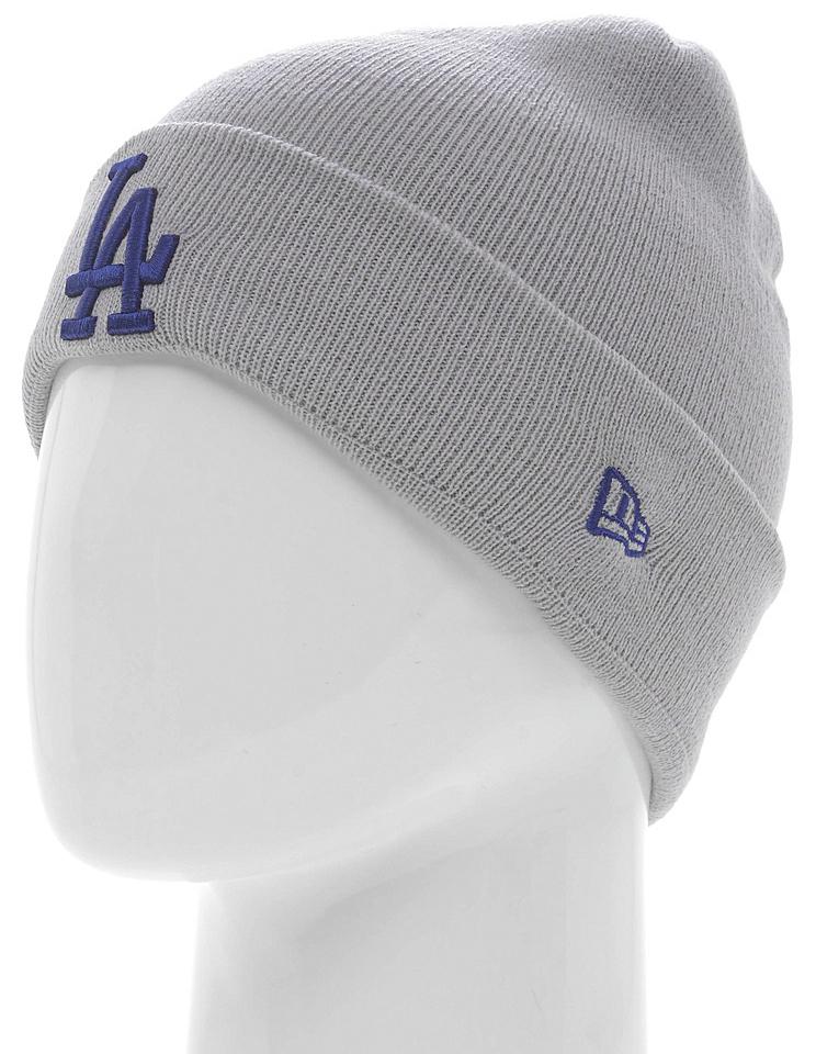 Шапка New Era Losangelesdodgers, цвет: серый. 11277630-OTC. Размер универсальный11277630-OTCШапка с отворотом New Era выполнена из 100% акрила. Модель оформлена вышитым логотипом команды MLB Los Angeles Dodgers. Такая шапка подойдет и для мужчин, и для женщин.