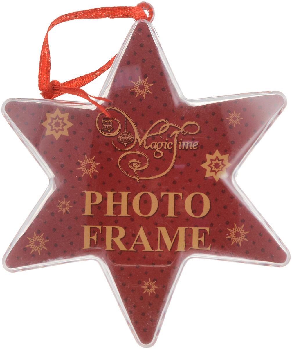 Украшение новогоднее подвесное Magic Time Красное сияние42314Новогоднее подвесное украшение Magic Time Красное сияние отлично подойдет для декорации новогодней ели. Игрушка, изготовленная из поливинилхлорида, выполнена в виде звезды с надписями. Создайте в своем доме атмосферу веселья и радости, украшая всей семьей новогоднюю елку нарядными игрушками, которые будут из года в год накапливать теплоту воспоминаний. Размеры украшения: 10 х 3,5 х 10 см