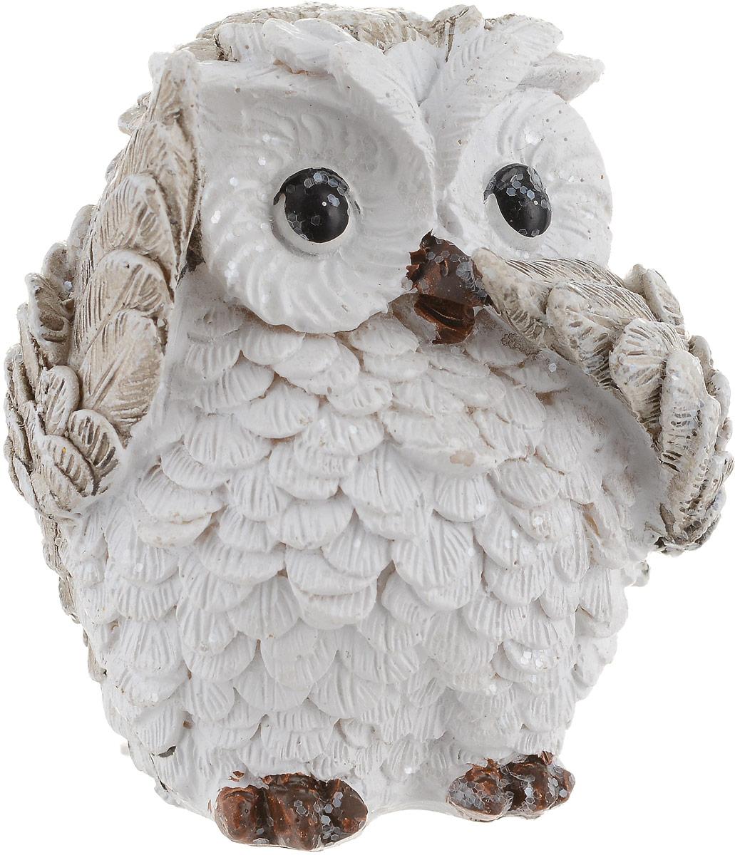 Фигурка декоративная Феникс-Презент Милая сова, высота 6,5 см. 75655 цена