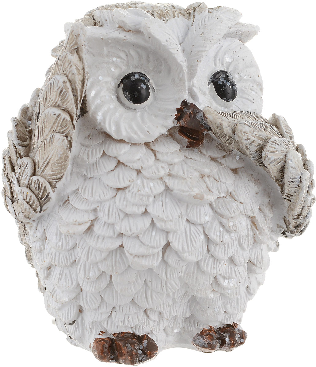 Фигурка декоративная Феникс-Презент Милая сова, высота 6,5 см. 75655 ваза декоративная феникс презент высота 13 5 см 43822