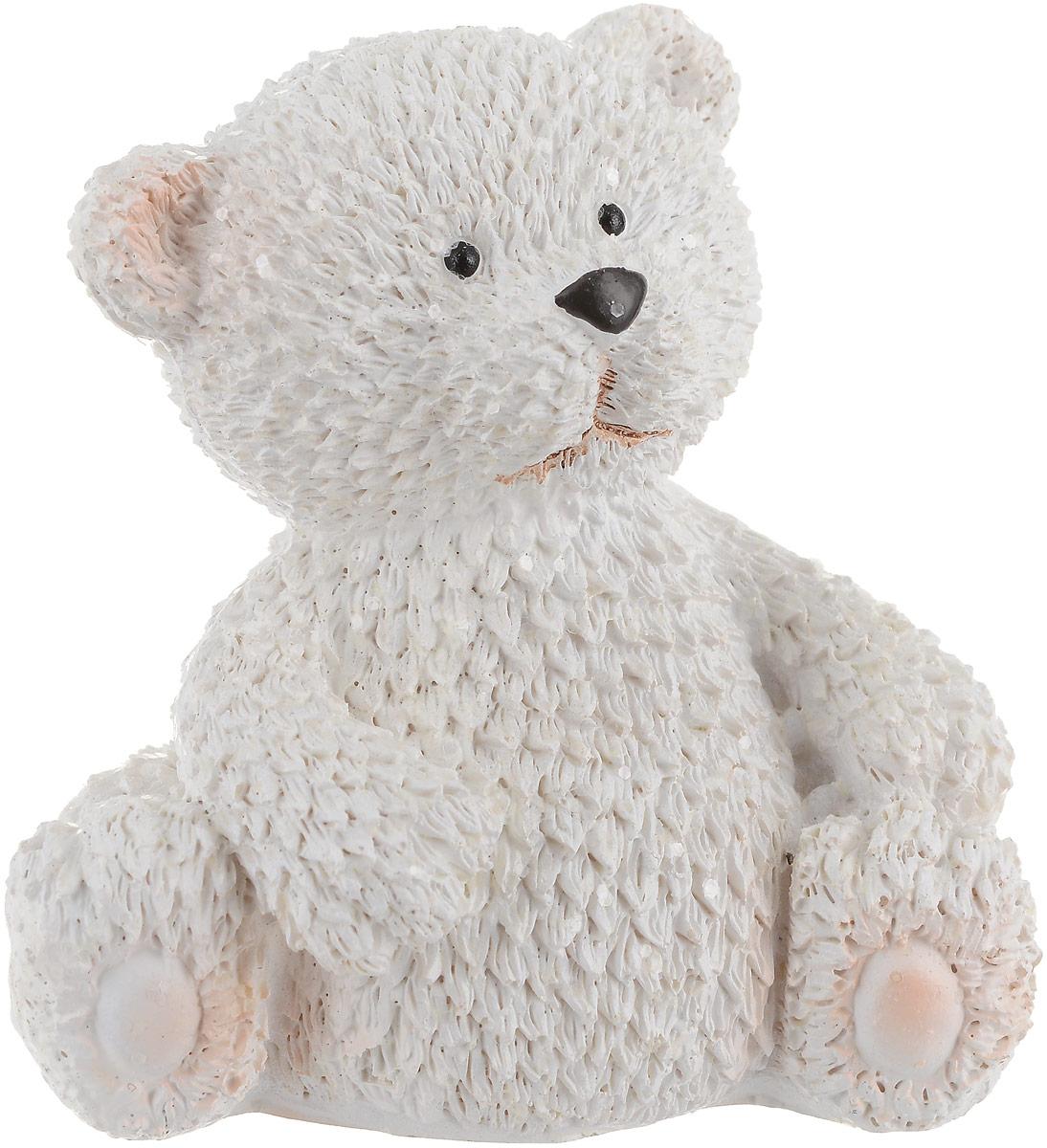 Фигурка декоративная Феникс-Презент Снежный мишка, высота 7 см. 75669 ваза декоративная феникс презент высота 13 5 см 43822