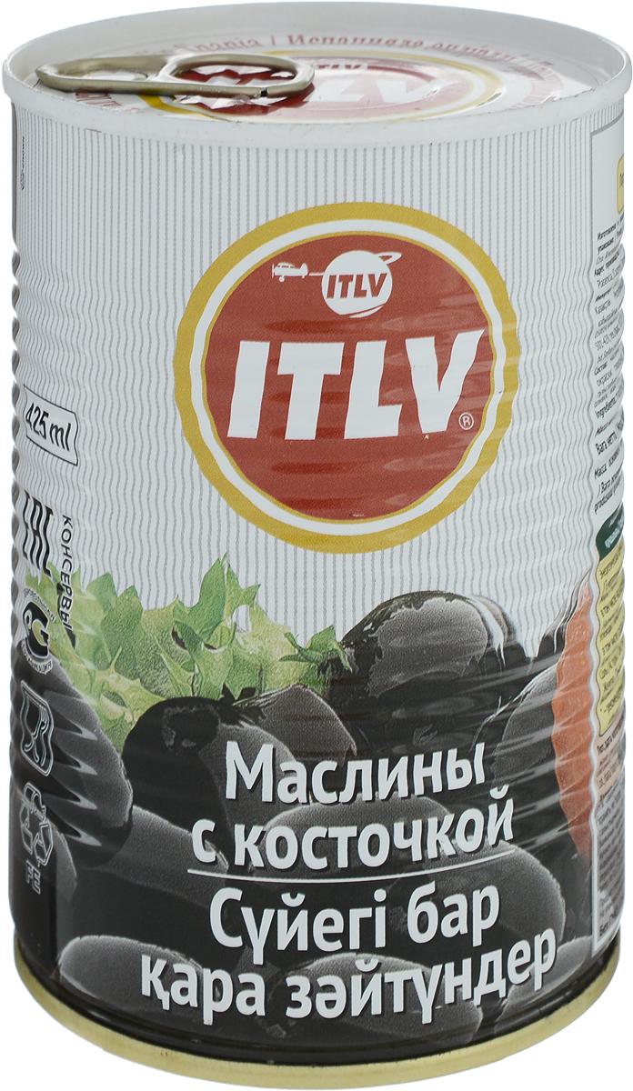 ITLV маслины с косточкой, 425 мл ideal маслины с косточкой extra class 300 г