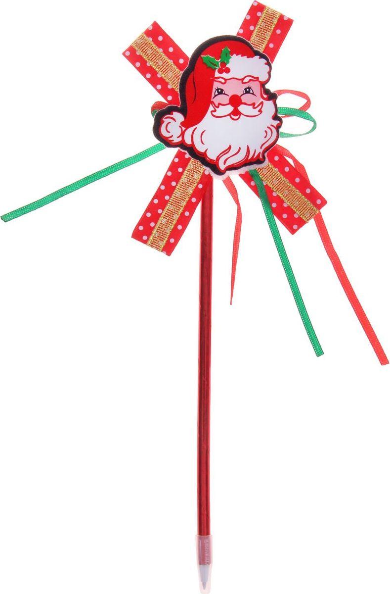 Страна Карнавалия Ручка Дед Мороз синяя1110389Шариковая ручка Дед Мороз с тематическим принтом станет отличным презентом в новогодние праздники! Для взрослых это будет оригинальное украшение рабочего стола и приятное напоминание о человеке, который преподнёс такой сувенир. А маленьких деток привлечёт красочный дизайн — за уроки они будут браться с энтузиазмом. Наконечник виде новогодней фигурки подарит улыбки и море позитива — такой зимний атрибут просто не захочется выпускать из рук!