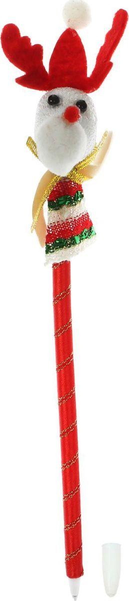 Sima-land Ручка шариковая Олененок 13803811380381Шариковая ручка с тематическим принтом станет отличным презентом в новогодние праздники! Для взрослых это будет оригинальное украшение рабочего стола и приятное напоминание о человеке, который преподнёс такой сувенир. А маленьких деток привлечёт красочный дизайн - за уроки они будут браться с энтузиазмом. Наконечник в форме различных фигурок подарит улыбки и море позитива - такой зимний атрибут просто не захочется выпускать из рук!