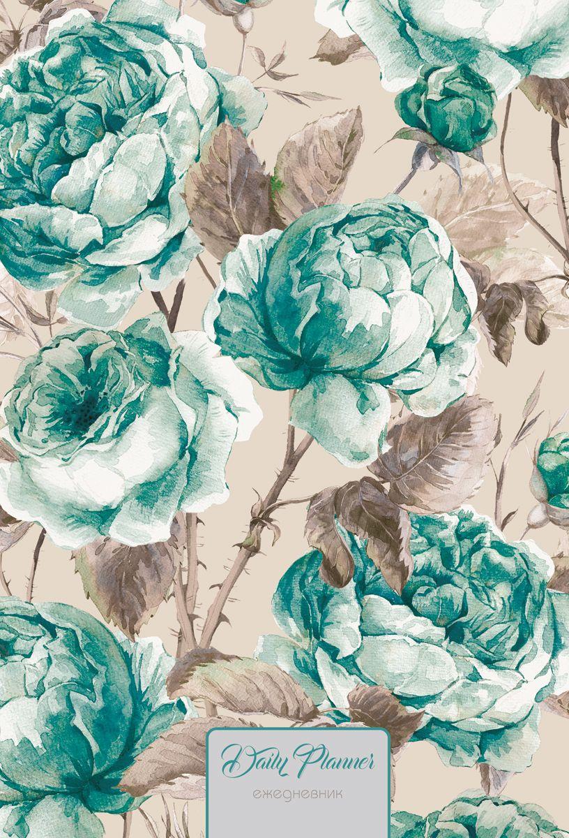 Канц-Эксмо Ежедневник Цветы Нежные розы недатированный 128 листов формат A5+ канц эксмо ежедневник графика орхидеи недатированный 160 листов формат a5