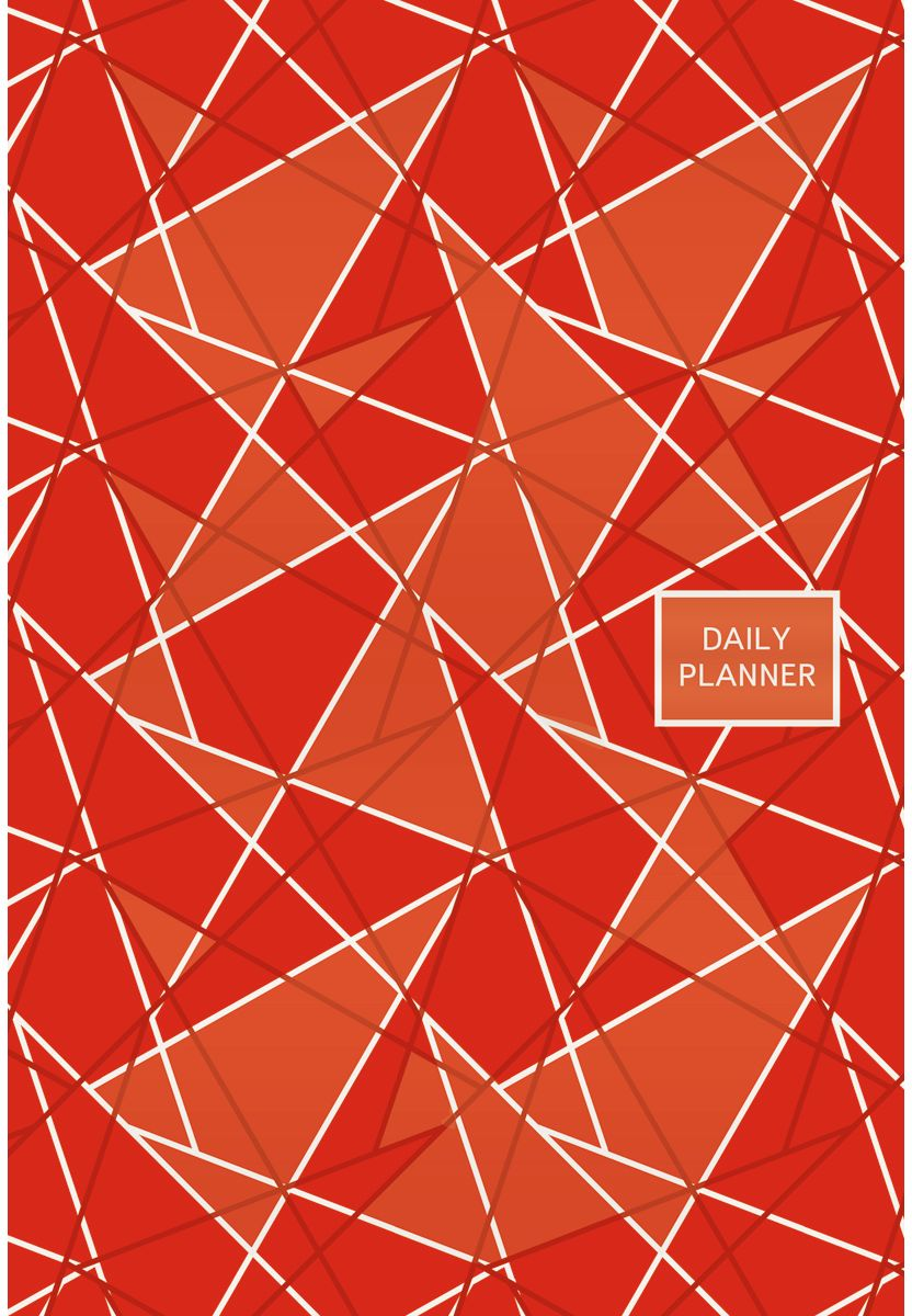Канц-Эксмо Ежедневник Офисный стиль Геометрия полудатированный 192 листа цвет красный формат А5 тетради канц эксмо темно красная а5 200листов тетради с пластиковой обложкой