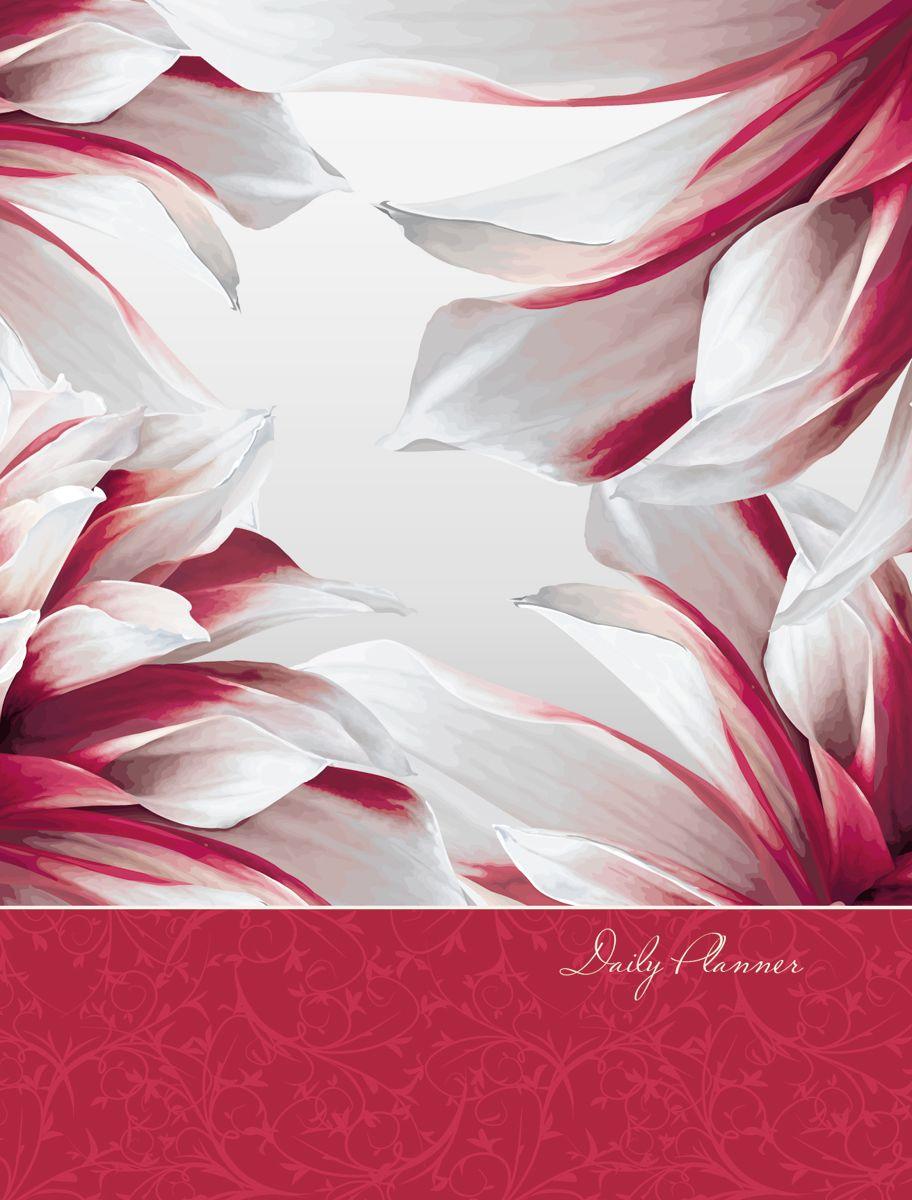 Канц-Эксмо Ежедневник Графика Цветочный вальс недатированный 160 листов формат A6 канц эксмо ежедневник графика орхидеи недатированный 160 листов формат a5